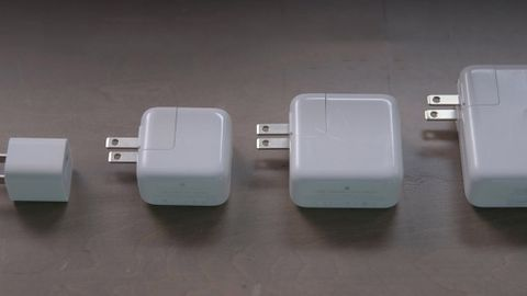 Olika Apple-laddare