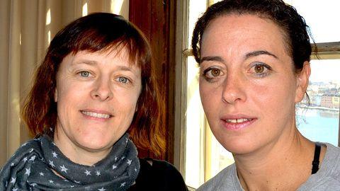 Lina Holmgren och Anette Lovas