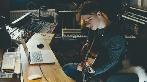 Producera musik workflow