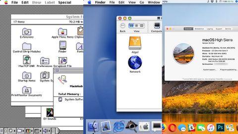 Mac OS genom åren