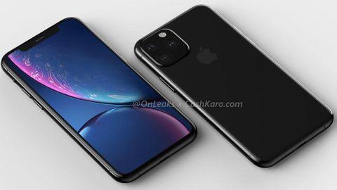 3d-rendering av Iphone 2019