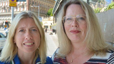 Ann Björk och Helena Hallgarn