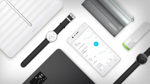 Produkter från Withings/Nokia Health.