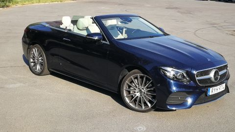 Test Mercedes E400 cabriolet