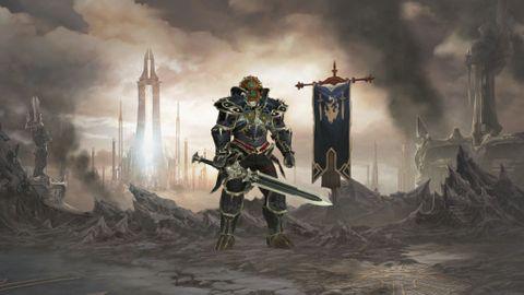 Ganondorf i Diablo 3 påNintendo Switch