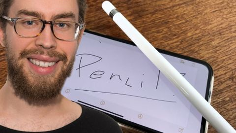 Apple Pencil på Iphone