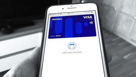 Mobilbetalning kontantlöst