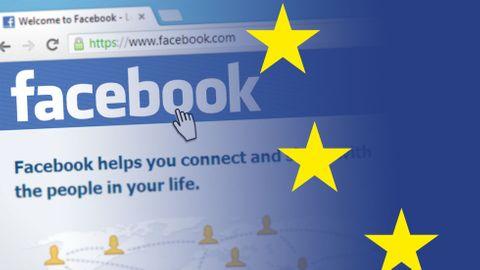 Facebook, EU-flagga