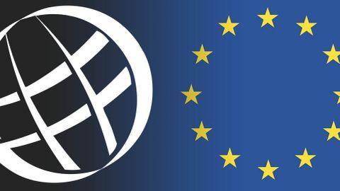 Logotyper: Icann, EU