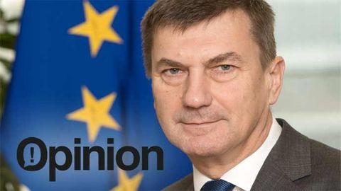 Andrus Ansip,EU-kommissionens vice ordförandemed ansvar för den digitala inre marknaden