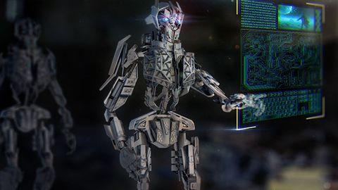 Illustration: Mördarrobot