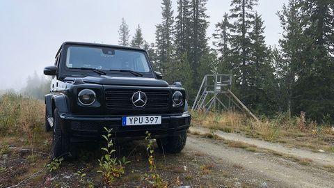 Test Mercedes G500