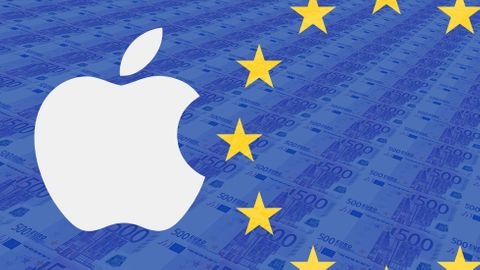Illustration: Apple och EU