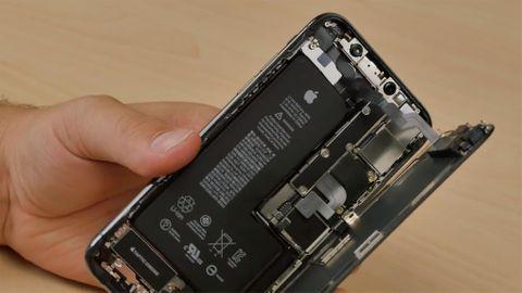 Iphone XS isärplockad av Fixjeiphone