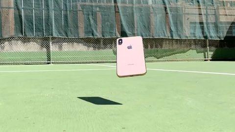 Iphone XS överlever ett fall