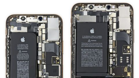 Ifixit plockar isär Iphone XS
