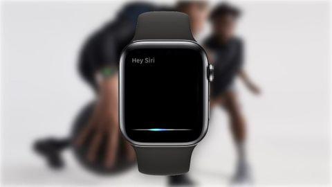 Siri påApple Watch Series 4