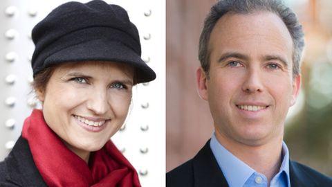 Stina Ehrensvärd och Frederic Kerrest