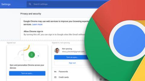 Chromes inställning för autoinloggning
