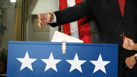 Röstning i amerikanskt val