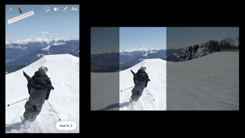 Automatisk vertikal video