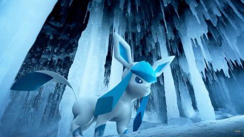 Glaceon –en av de nya monstren i Pokémon Go generation 4.