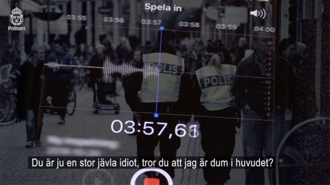 Bank-ID-bedragare fångad påröstinspelning