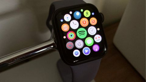 Test av Spotify på Apple Watch