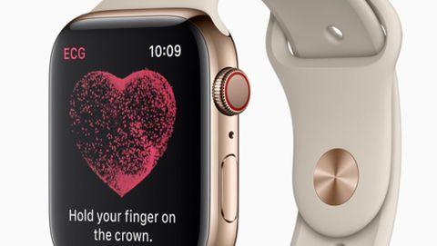 EKG i Apple Watch Series 4