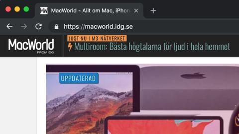 Mörkt läge i Chrome