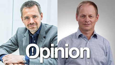 Fredrik Ljunggren och André Catry