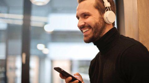 Iphone och hörlurar