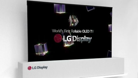 Ihoprullbar tv från LG