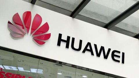 Foto: Huawei-skylt