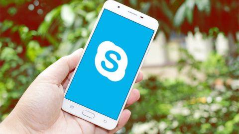 Skype i mobilen