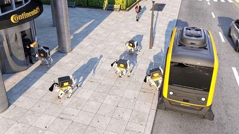 robothundar leveranser