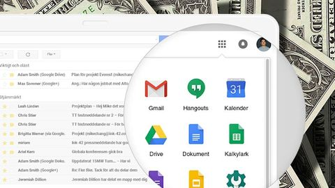 G Suite, dollarsedlar