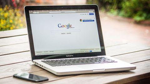 Google på datorskärm