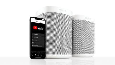 Sonos får stöd för Youtube Music