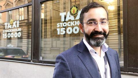 Murat Yigit, vd på Taxi Stockholm.