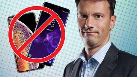 Martin Appel mobilförbud klassrum
