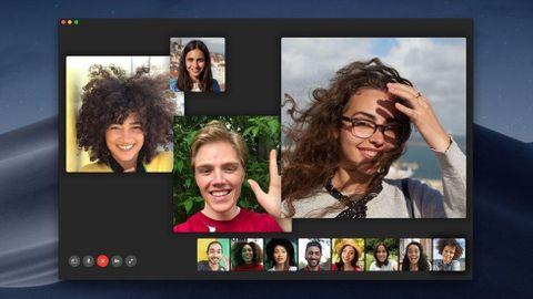 Gruppsamtal i Facetime