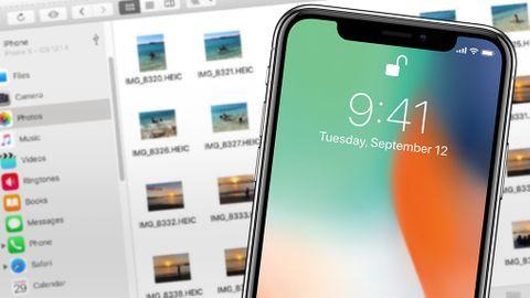 Kopiera foton från Iphone till Macen