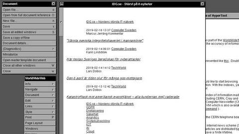 cern webbläsare
