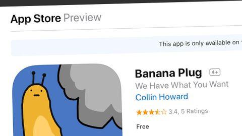 Appen Banana Plug som ska ha använts för drogförsäljning