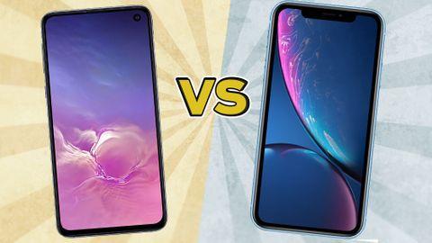 Iphone XR vs Samsung Galaxy S10e 1581e036c1a16
