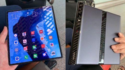 Huawei Mate vikbar mobil