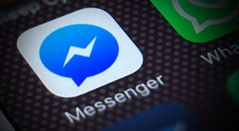 Testa mörkt läge i Facebook Messenger