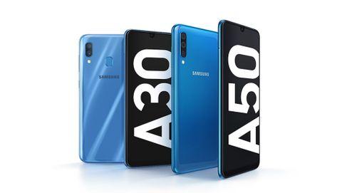 Galaxy A30 och A50