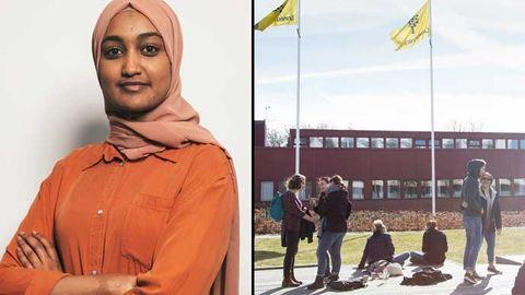 Ebtisam Mohammedsalih som studerar programvaruteknik vid Linnéuniversitetet i Kalmar